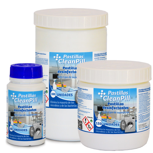 Cleanpill Pastillas Desinfectantes de Superfícies
