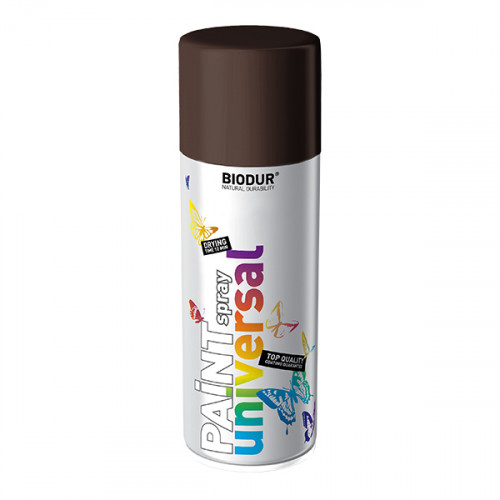 Spray pintura marrón | Biodur (400 ml)
