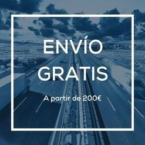 Envío gratuito a partir de 150€